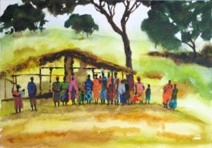 africa-hut