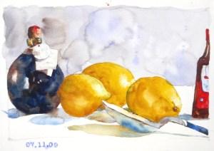 balsamic lemons